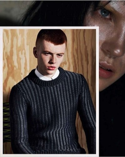 Jake Shortall - Ph: Roe Ethridge for Pringle F/W 12