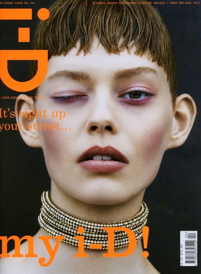 Ondria Hardin - ph: Luigi and Daniele + Iango for i-D Magazine August 2013