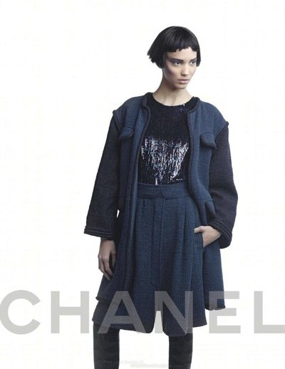 Cora Emmanuel - Ph: Karl Lagerfeld for Chanel F/W 12