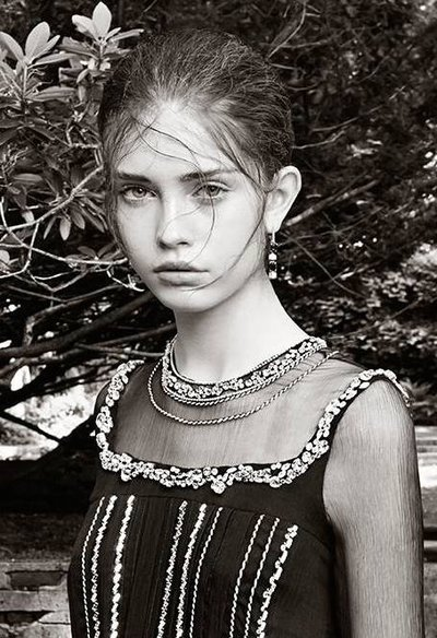 Moya Palk - Ph: Steven Meisel for Prada Resort 2015