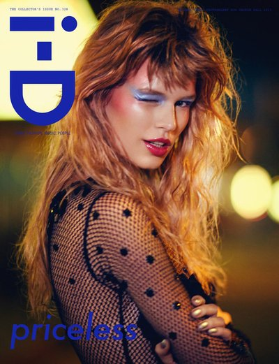 Anna Ewers - Ph. Boo George for i-D