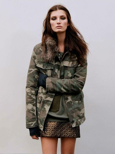 Ava Smith - Ph: Alasdair McLellan for Topshop F/W 12
