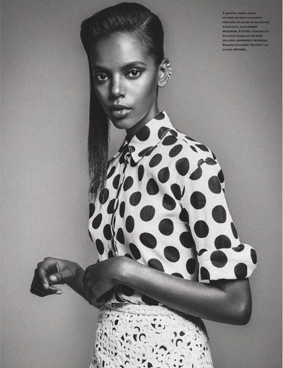 Grace Mahary - Ph. Sebastian Kim for Numero