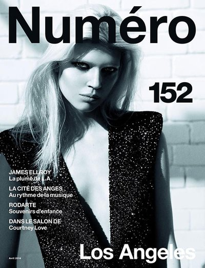 Ola Rudnicka - Numero April 2014 Cover by Richard Bush