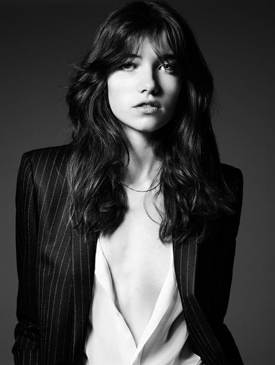 Grace Hartzel - Ph. Hedi Slimane for Saint Laurent Paris