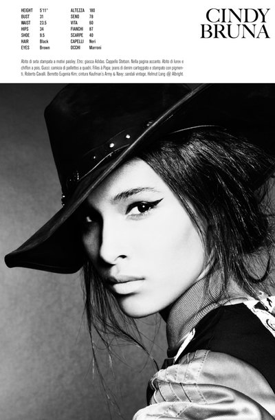 Cindy Bruna - Ph. Steven Meisel for Vogue Italia
