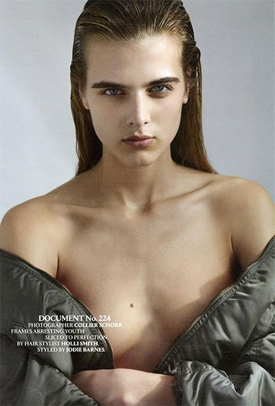 Tamara Weijenberg - Ph: Collier Schorr for Document