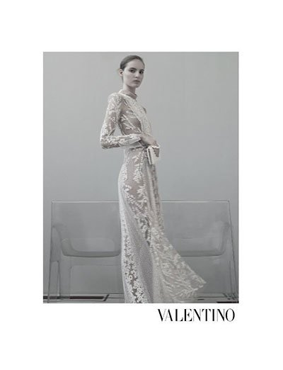 Tilda Lindstam - Ph: Sarah Moon for Valentino