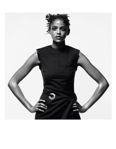 Aya Jones - Ph. David Sims for Vogue Paris