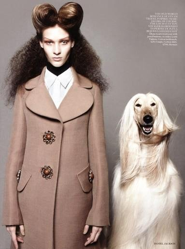 Elena Bartels - Ph: Daniel Jackson for British Vogue Aug 2012