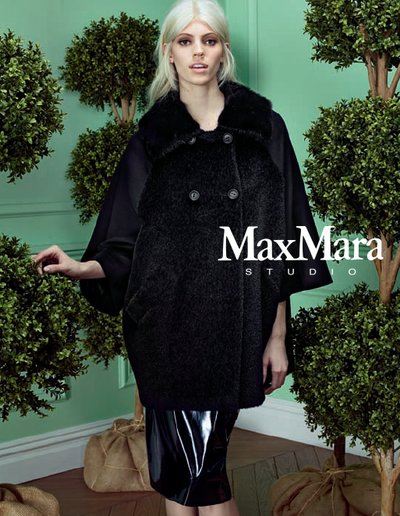 Devon Windsor - Ph Max Mara Studio F/W 14