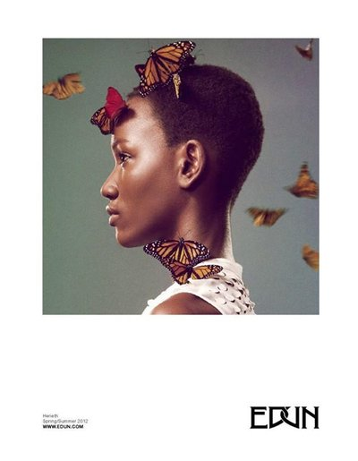 Herieth Paul - Ryan McGinley for EDUN
