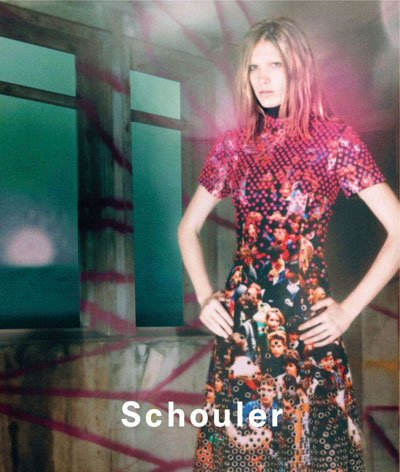 Irina Nikolaeva - Ph: David Sims for Proenza Schouler SS13
