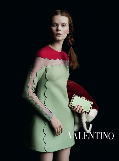 Irina Kravchenko - Ph. Inez and Vinoodh for Valentino