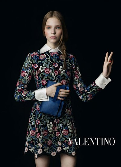 Sasha Luss - Ph. Inez and Vinoodh for Valentino
