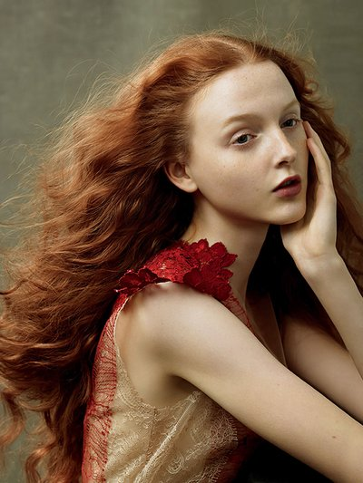 Madison Stubbington - Ph. Annie Leibovitz for American Vogue
