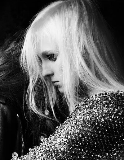 Nastya Sten - Ph. Hedi Slimane for Saint Laurent Paris