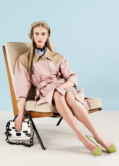 Hedvig Palm - Ph: Ben Toms for Prada Resort 2012