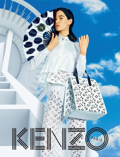 Mona Matsuoka - Ph. Pierpaolo Ferrari for Kenzo S/S 15
