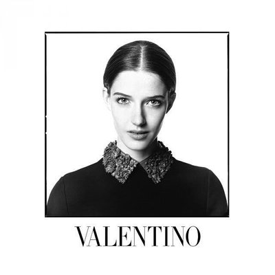Josephine Van Delden - Ph. David Bailey for Valentino