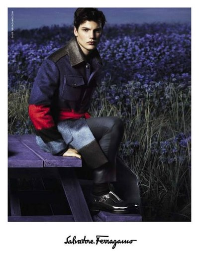 Felix Hermans - Ph: Mert and Marcus for Ferragamo F/W 14