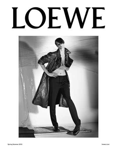 Marc André Turgeon - Ph: Steven Meisel for Loewe S/S 15
