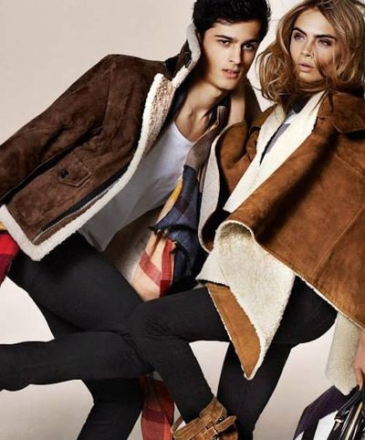 Tarun Nijjer - Ph: Mario Testino for Burberry F/W 14