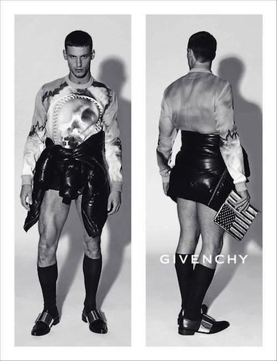 Mariano Ontañon - Ph: Mert Alas and Marcus Piggot for Givenchy S/S 14