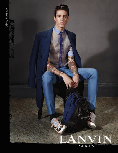 Miles Langford - Ph: Steven Meisel for Lanvin F/W 13