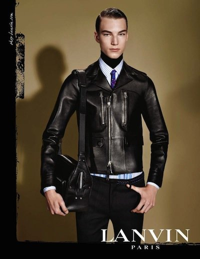 Gustav Swedberg - Ph: Steven Meisel for Lanvin F/W 13