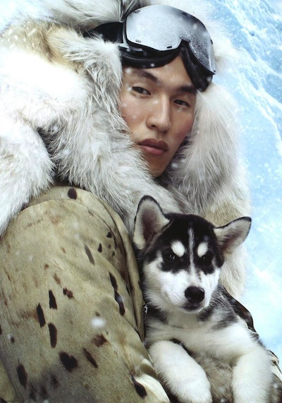 Jae Yoo - Ph: Steven Meisel for Moncler F/W 13