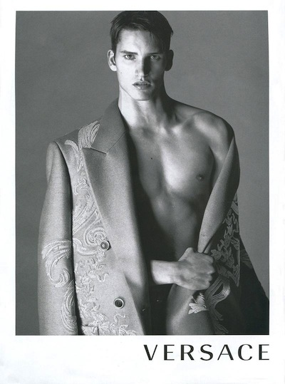 Dominik Bauer - Ph: Mert Alas and Marcus Piggot for Versace F/W 13