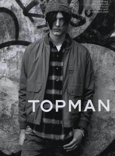Jacob Morton - Ph: Alasdair McLellan for Topman F/W 13