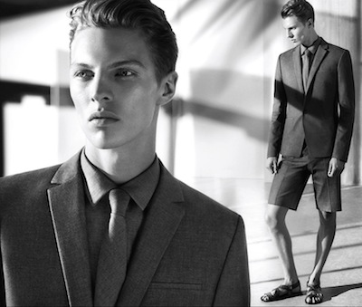 Tim Schuhmacher - Ph: Mert Alas and Marcus Piggot for Calvin Klein Platinum S/S 14