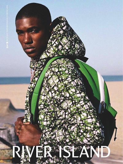 Ronald Epps - Ph: for River Island S/S 14