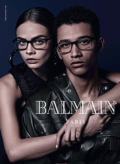 Jackson Hale - Ph: Mario Sorrenti for Balmain F/W 14