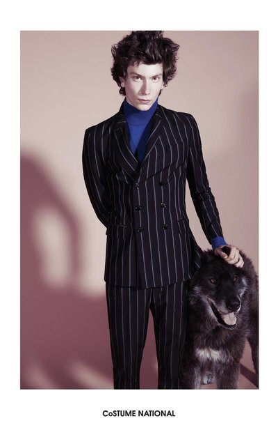 Graham Reese - Ph: Glen Luchford for Costume National F/W 14