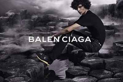 Piero Mendez - Ph: Josh Olins for Balenciaga S/S 15