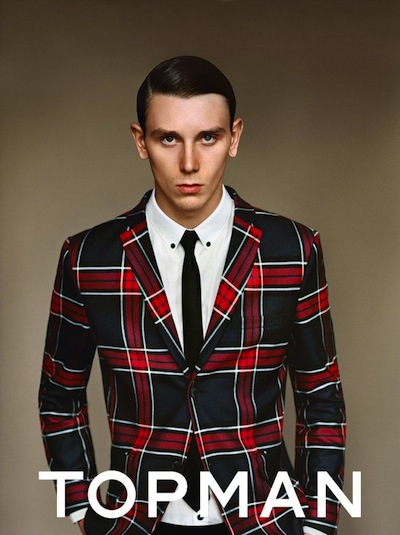 David Metcalfe - Ph: Alasdair McLellan for Topman Winter 2013