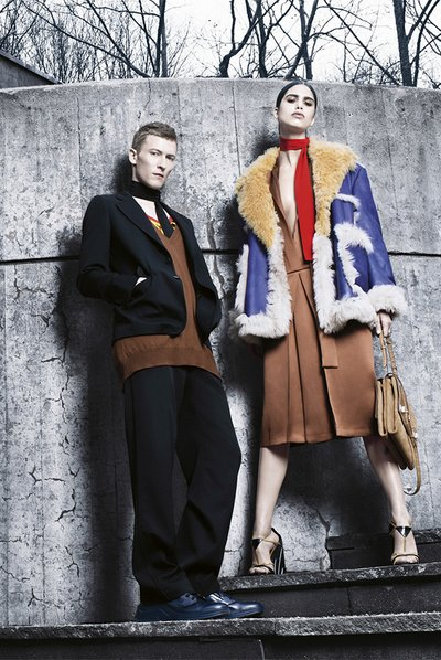 Karl Kolbitz - Ph: Steven Meisel for Prada F/W 14