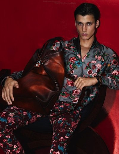 Luca Stascheit - Ph: Mert Alas and Marcus Piggot for Gucci S/S 14