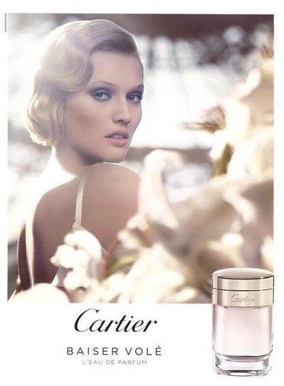 Toni Garrn - Cartier Baiser Vole Fragrance 2013 by Craig McDean