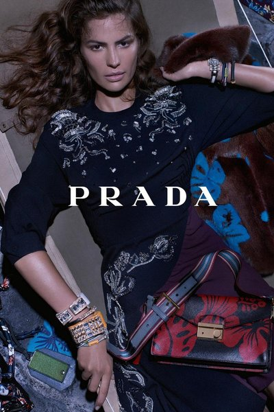 Cameron Russell - Ph: Steven Meisel for Prada Resort 2014