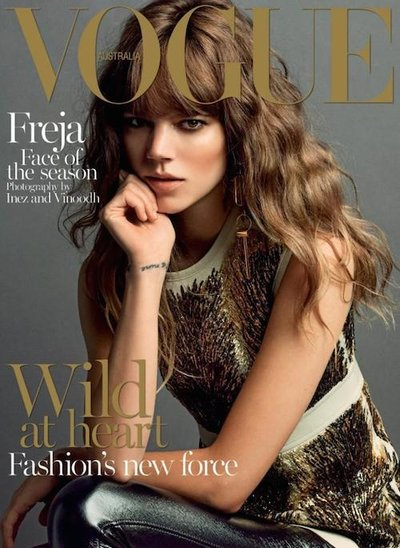 Freja Beha Erichsen - Ph: Inez & Vinoodh for Vogue Australia Sept 2014