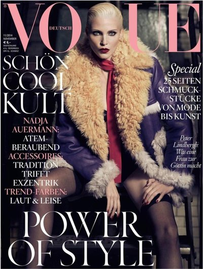 Nadja Auermann - Ph: Luigi & Iango for Vogue Germany November 2014