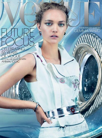 Gemma Ward - Ph: Emma Summerton for Vogue Australia December 2014