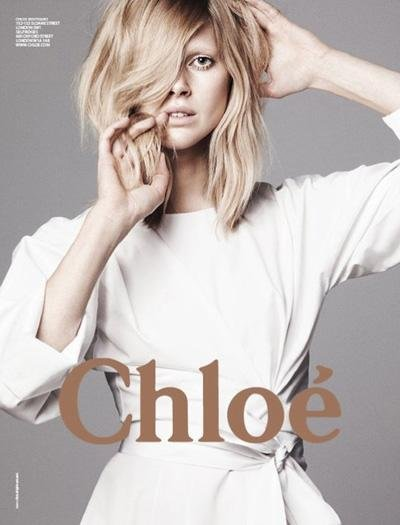 Iselin Steiro - Photo: David Sims for Chloe S/S 2011