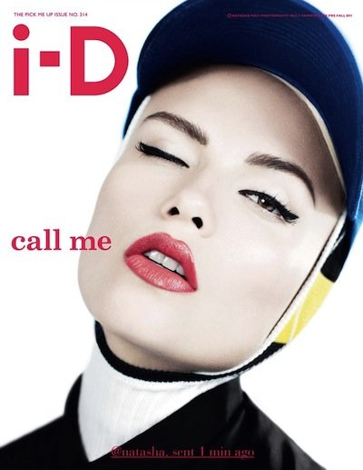 Natasha Poly - Photo: Willy Vanderperre for i-D August 2011