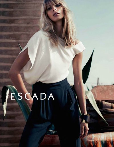 Julia Stegner - Ph: Claudia Knoepfel & Stefan Indlekofer for Escada F/W 14