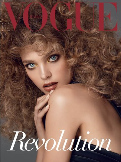 Natalia Vodianova - Photo: Steven Meisel for Vogue Italia June 2013 Cover